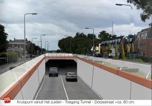 Toegang-Tunnel-Dorpsstraat
